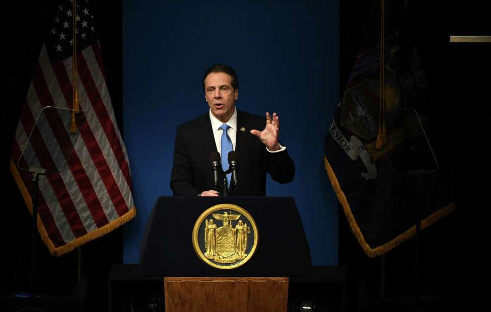 Gov. Andrew M. Cuomo has yet to put the state's money where his mouth is when it comes to counting every New Yorker in next year's census. Activists and state legislators want at least $40 million in this year's state budget. (Will Waldron/Times Union)