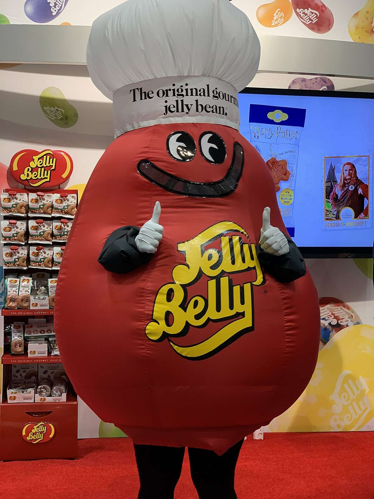 It wouldn't be the Winter Fancy Food Show without the Jelly Belly booth.