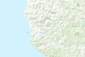 Three earthquakes of preliminary magnitudes between 2.9 and 4.0 struck off the coast of Northern California on Tuesday, the United States Geological Survey reports.