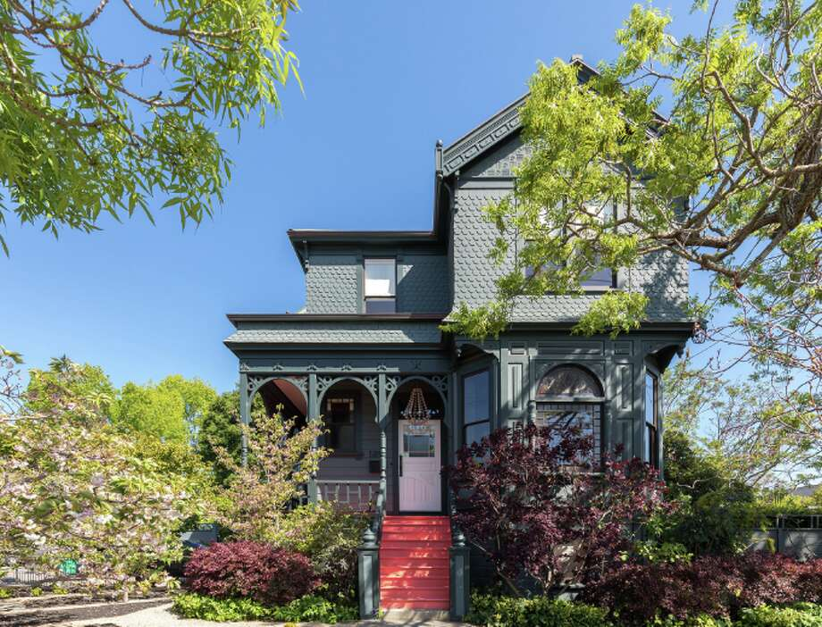 Beautifully restored Victorian dating back to the 1890s on a double lot in Oakland's Rockridge neighborhood is listed for $3.395 million. Photo: Peter Lyons Is The Photographer