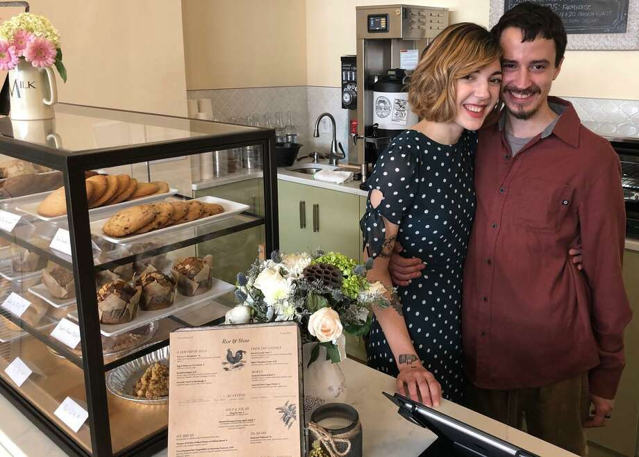 The River & Rail Café on Bank Street in New Milford is already making a name for itself. The owners, Ethan and Nicky Grievous, opened the dining establishment at the start of the year. Photo: Deborah Rose / Hearst Connecticut Media / The News-Times  / Spectrum