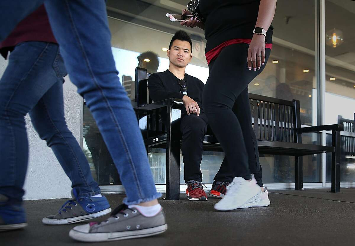 Chris Liu worked at Kome restaurant for eight years when he was hit with a $5.1 million dollar wage theft citation for reimbursing a customer due money which he talks about at the Westlake Center on Thursday, June 7, 2018 in Daly City, Calif.