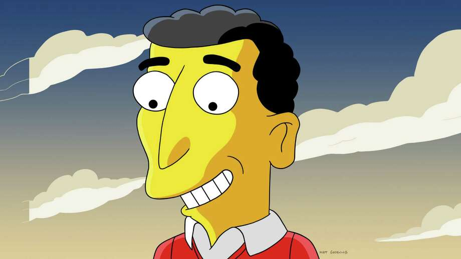 "Mike Reiss, a longtime writer for ""The Simpsons"" — and whose image here has been ""Simpsonized"" — will share stories about the show, including behind-the-scenes details, at Danbury Library on Jan. 26. Photo: Contributed Photo"