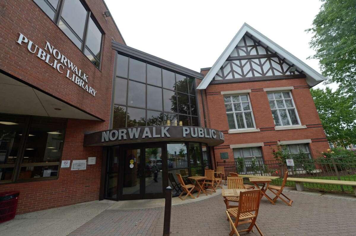 The Norwalk Public Libary.