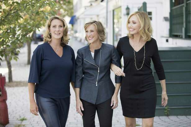 Denise D?'Agostino, Karen Kirchner, and Ellen Keithline Byrne, founders of The Moxie Project