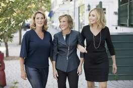 Denise D?'Agostino, Karen Kirchner, and Ellen Keithline Byrne, founders of The Moxie Project