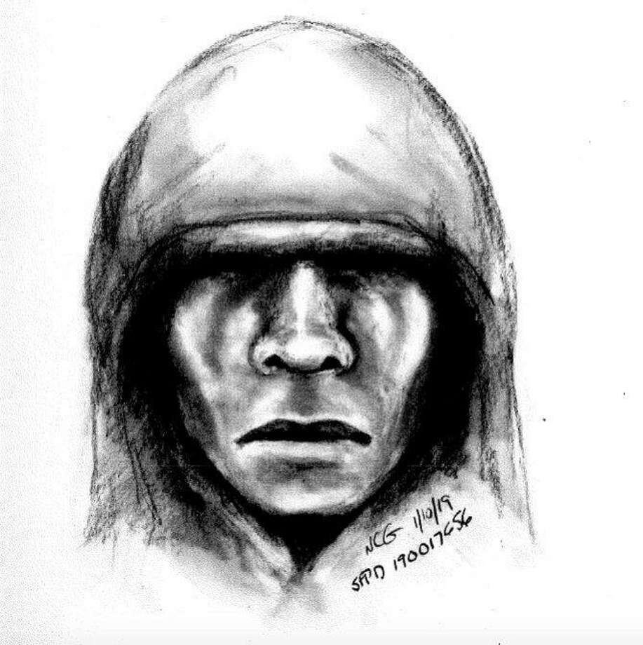 The Police Department released a sketch of the man they believe beat and robbed the woman. Photo: San Francisco Police Department