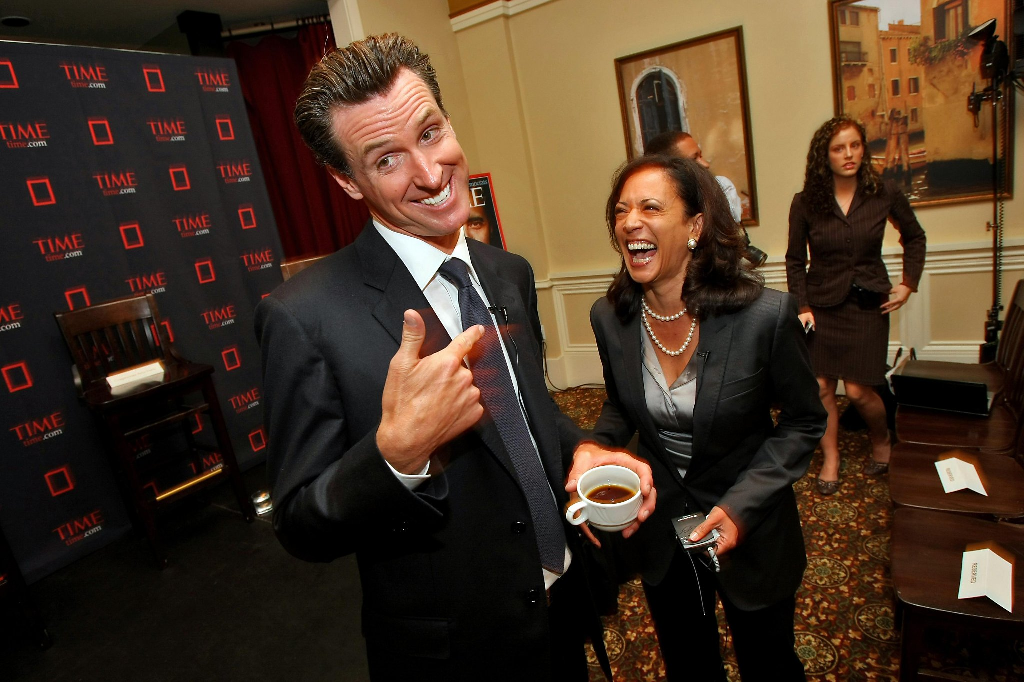 Who Will Replace Kamala Harris In The Senate It S Up To Gavin Newsom Sfchronicle Com