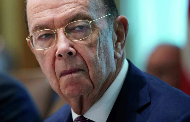 (FILES) In this file photo taken on August 16, 2018 US Commerce Secretary Wilbur Ross takes part in a Cabinet meeting in the Cabinet Room of the White House in Washington, DC. - A federal judge in New York on January 15, 2019 denied President Donald Trump's administration's bid to reinstate a citizenship question in the US Census. The ruling, seen as a win for Democrats and immigration rights groups, still could be taken up by the US Supreme Court. Rights groups and several US states and cities opposed the move by Commerce Secretary Wilbur Ross to add the question to the 2020 census.Opponents of the question, removed from the Census for 60 years, said it was an effort by the administration to discourage illegal immigration. (Photo by MANDEL NGAN / AFP)MANDEL NGAN/AFP/Getty Images