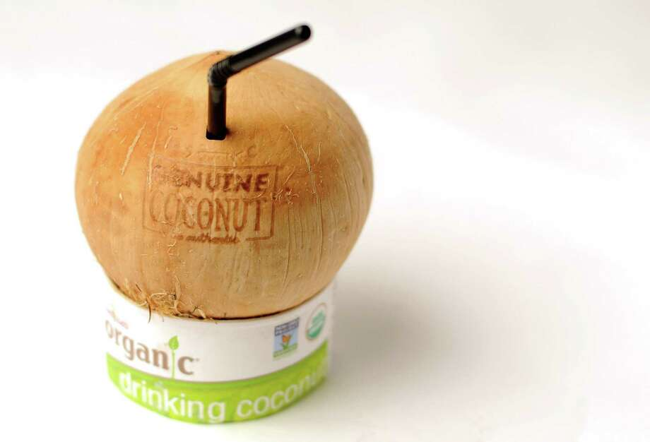 Find Melissa's Produce Organic Drinking Coconuts at Central Market for $4.99. Photo: Paul Stephen / Staff