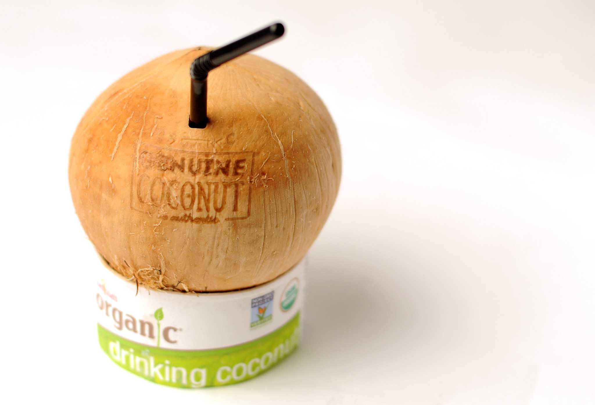 New on the market: Drinking coconuts for sipping and munching