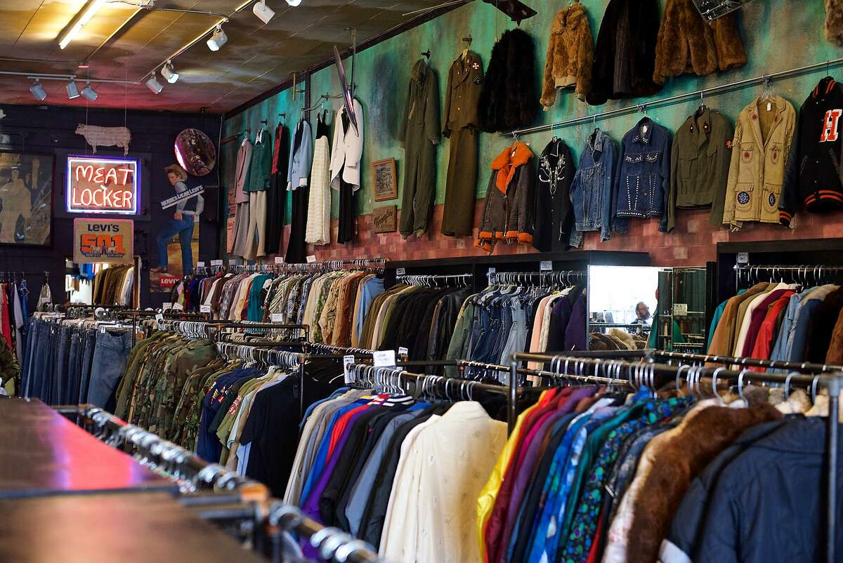 Picture your ideal vintage or second-hand shopping experience and it likely bares a strong resemblance to what you'll find upon walking into Held Over in the Haight-Ashbury (1534 Haight St.). Entering the sprawling store is like being transported into a colorful bazaar, each stall specializing in a different era.