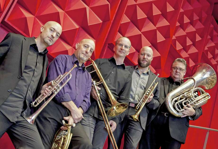 The Atlantic Brass Quintet will perform in the Hotchkiss Concert Series. Photo: Contributed Photo
