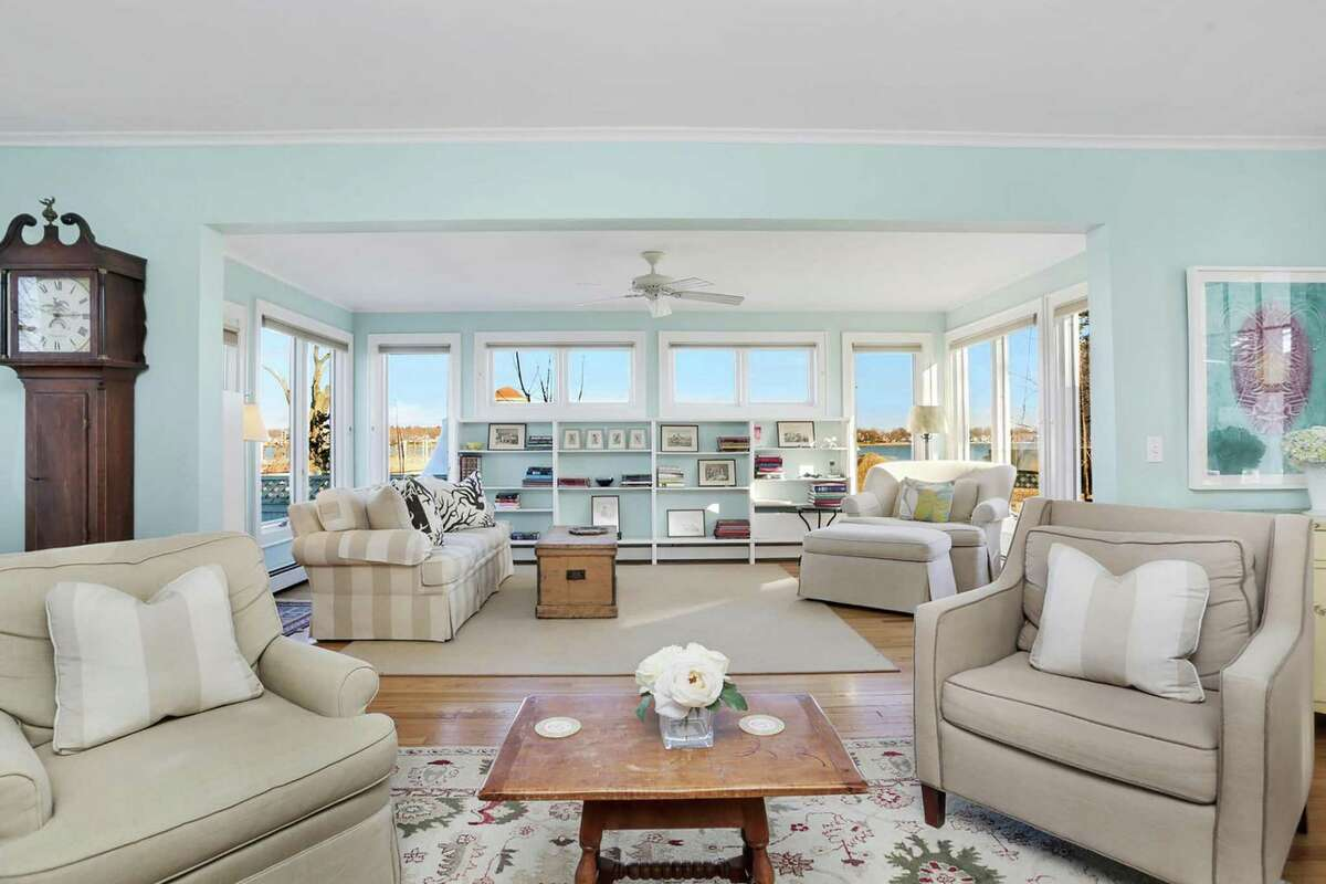 Located in the Shorefront Park Association, 22 Shorefront Park is listed for $735,000 by William Raveis Real Estate.